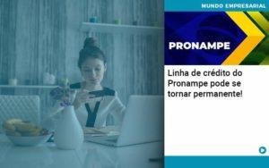 Linha De Credito Do Pronampe Pode Se Tornar Permanente Organização Contábil Lawini - Contabilidade em Brasília - DF | C & V Contadores Associados